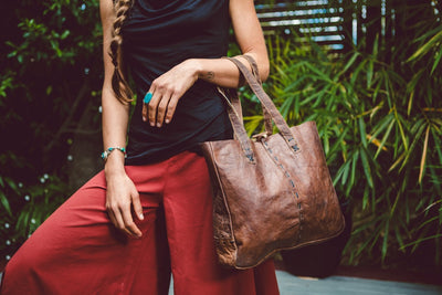 Organic Buffalo Leather Bags