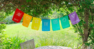 Surya Australia Ethical Cotton Prayer Flags from Nepal