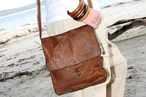 Surya Buffalo Leather Bag