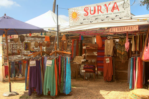 Surya Market Stall at Rainbow Serpent Festival