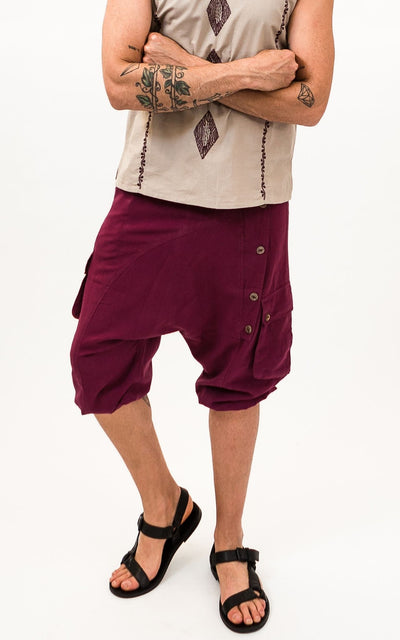 Surya Australia Cotton Drop Crotch Shorts for men from Nepal