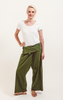 Surya Australia Vegetable Dyed Fisherman Pants - Tree Green