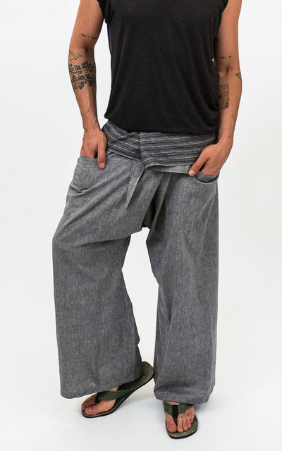 Surya Australia Earthy Cotton Fisherman Pants from Nepal