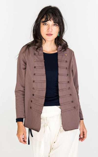 Surya Australia Organic Cotton Jacket - Dusty Mauve