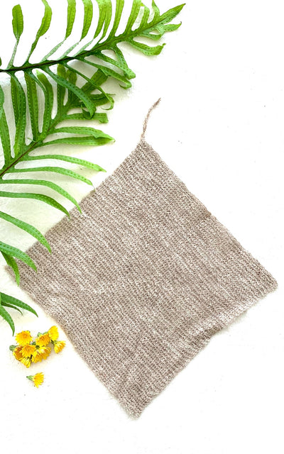 Surya Australia Organic Stinging Nettle Wash Cloth Flannel from Nepal
