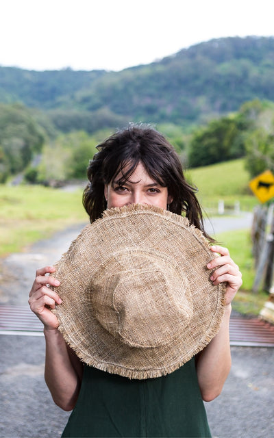 Surya Australia Organic Hemp Hat from Nepal