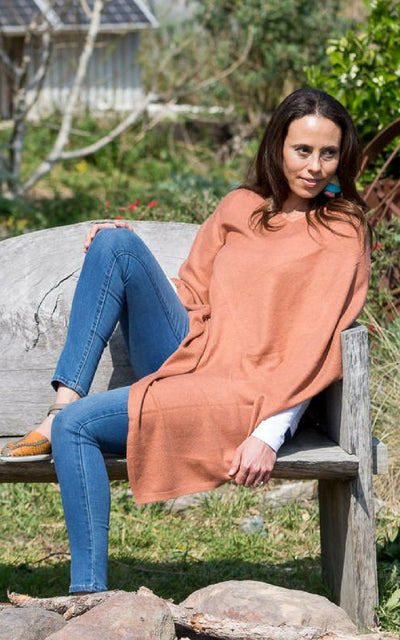 Surya Australia Ethical Cashmere and Wool Poncho