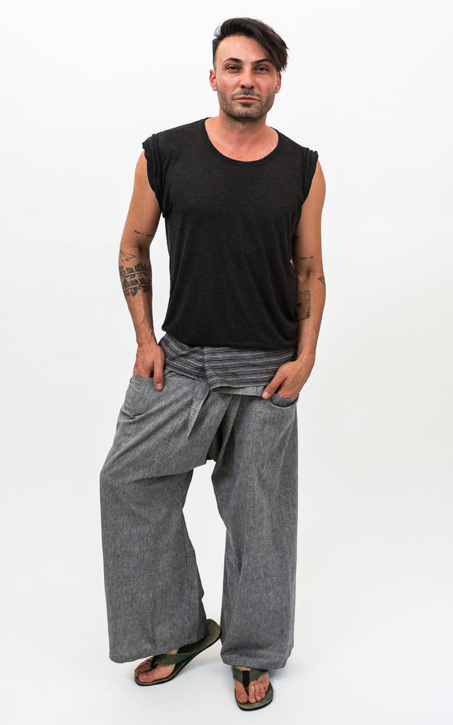 Surya Australia Fisherman Pants - Grey