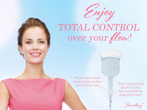 Femallay™ Easy Empty Menstrual Cup