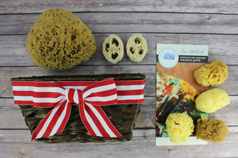 Ultimate Sea Artist Sea Sponge Gift Basket