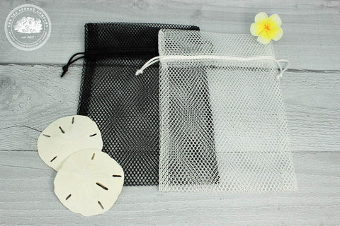 Mesh Bag for Drying and Storing Sea Sponge Tampons