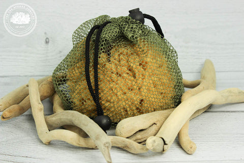Sea Wild™ Natural Bathing Sea Sponge for Outdoor Enthusiasts