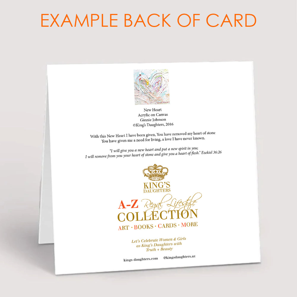 Thank You Notecard Collection - Set of 8-King's Daughters Regal Lifestyle Collection