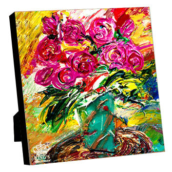 Bouquet of Blessings • Giclee I-Giclee-King's Daughters Regal Lifestyle Collection