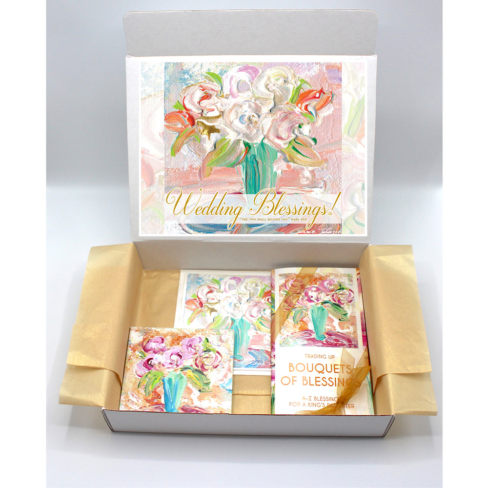 Wedding Gift Boxes - BOUQUET SERIES (Choose Colors)