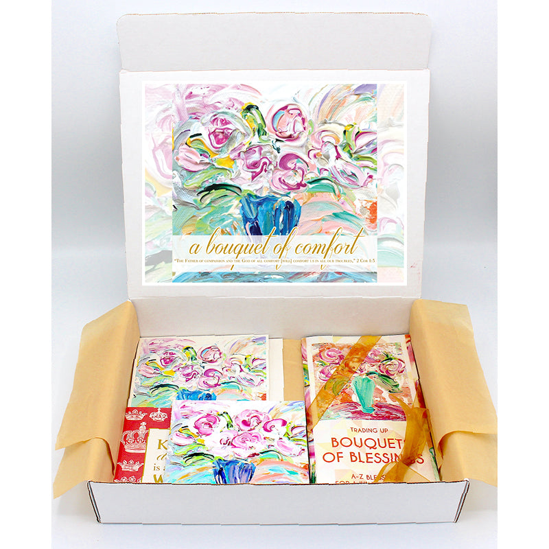 Bouquet Regal Box - Blue Vase Series-Regal Boxes-King's Daughters Regal Lifestyle Collection