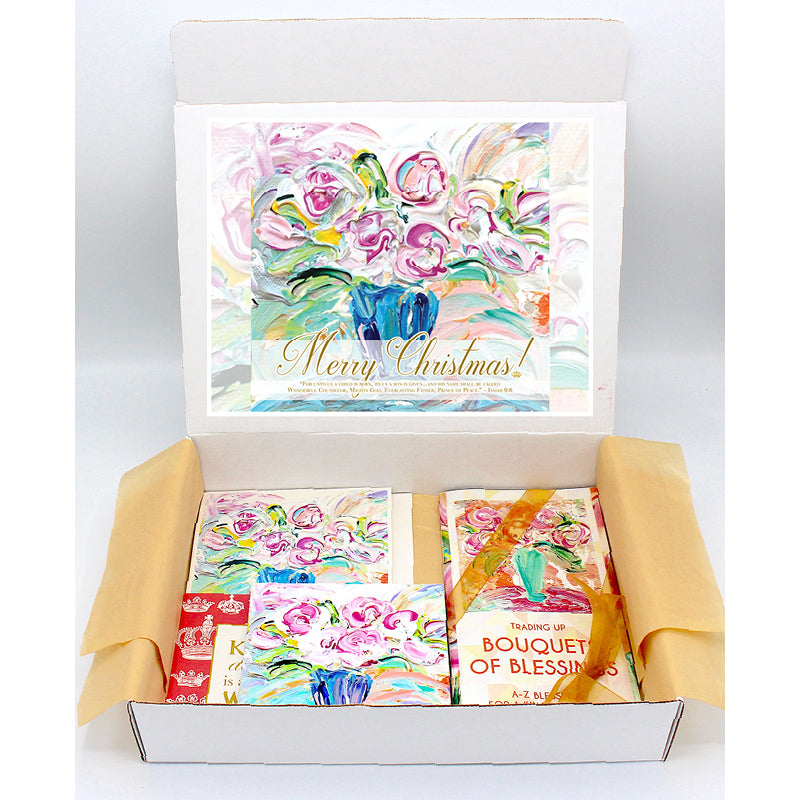 """Merry Christmas"" Regal Gift Boxes"