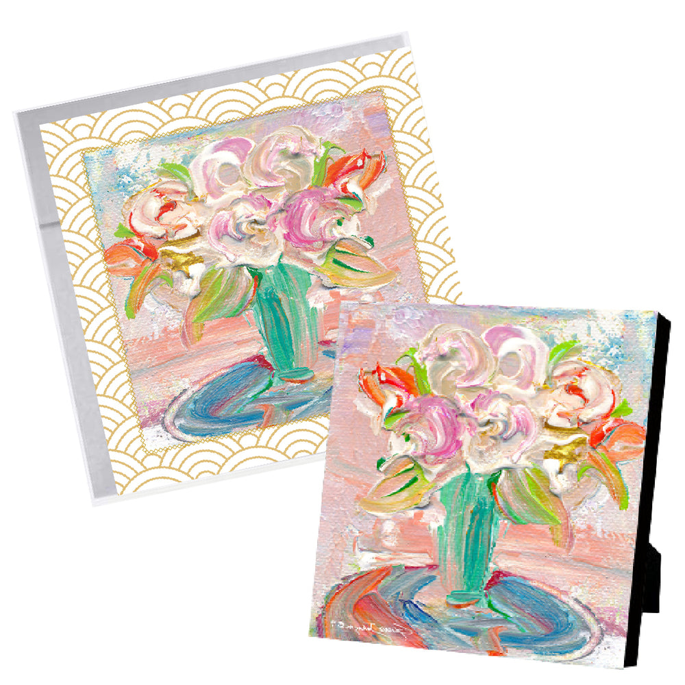 Mother's Day Blessing Book + Bouquet Giclee Special