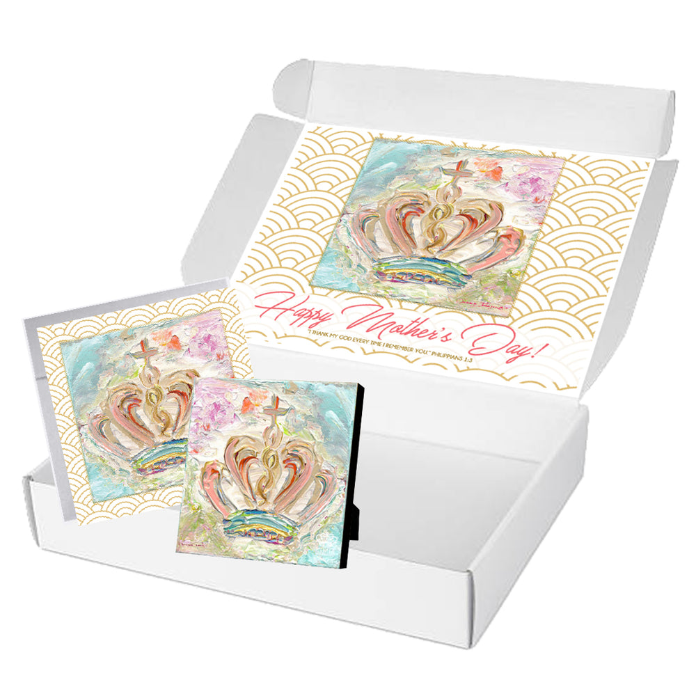 Mother's Day Blessing Book + Crown Giclee Special
