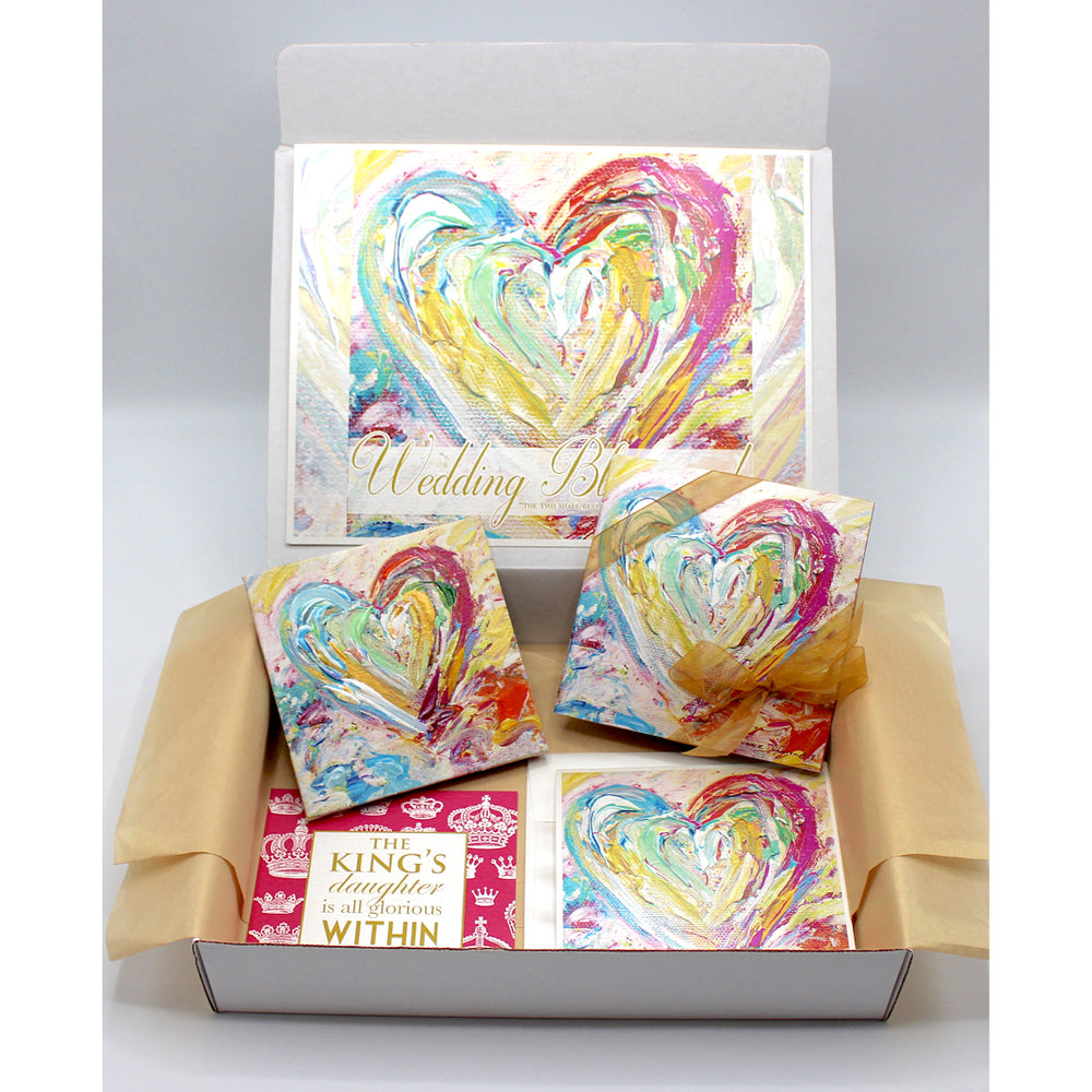 Congratulations Gift Boxes - HEART SERIES (Choose Color)