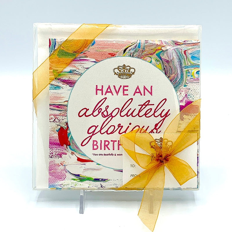 Happy Birthday Notecard Collection - Set of 8-King's Daughters Regal Lifestyle Collection