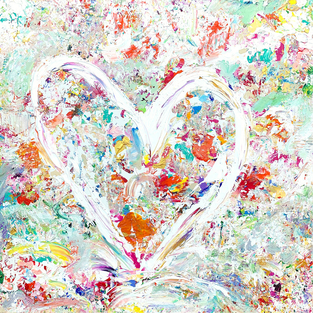 New Heart - 36x36 Original Painting