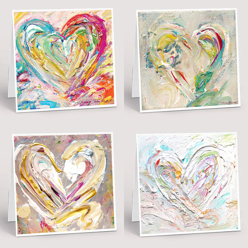 Notecard Collection : New Heart-Notecard Collections-King's Daughters Regal Lifestyle Collection