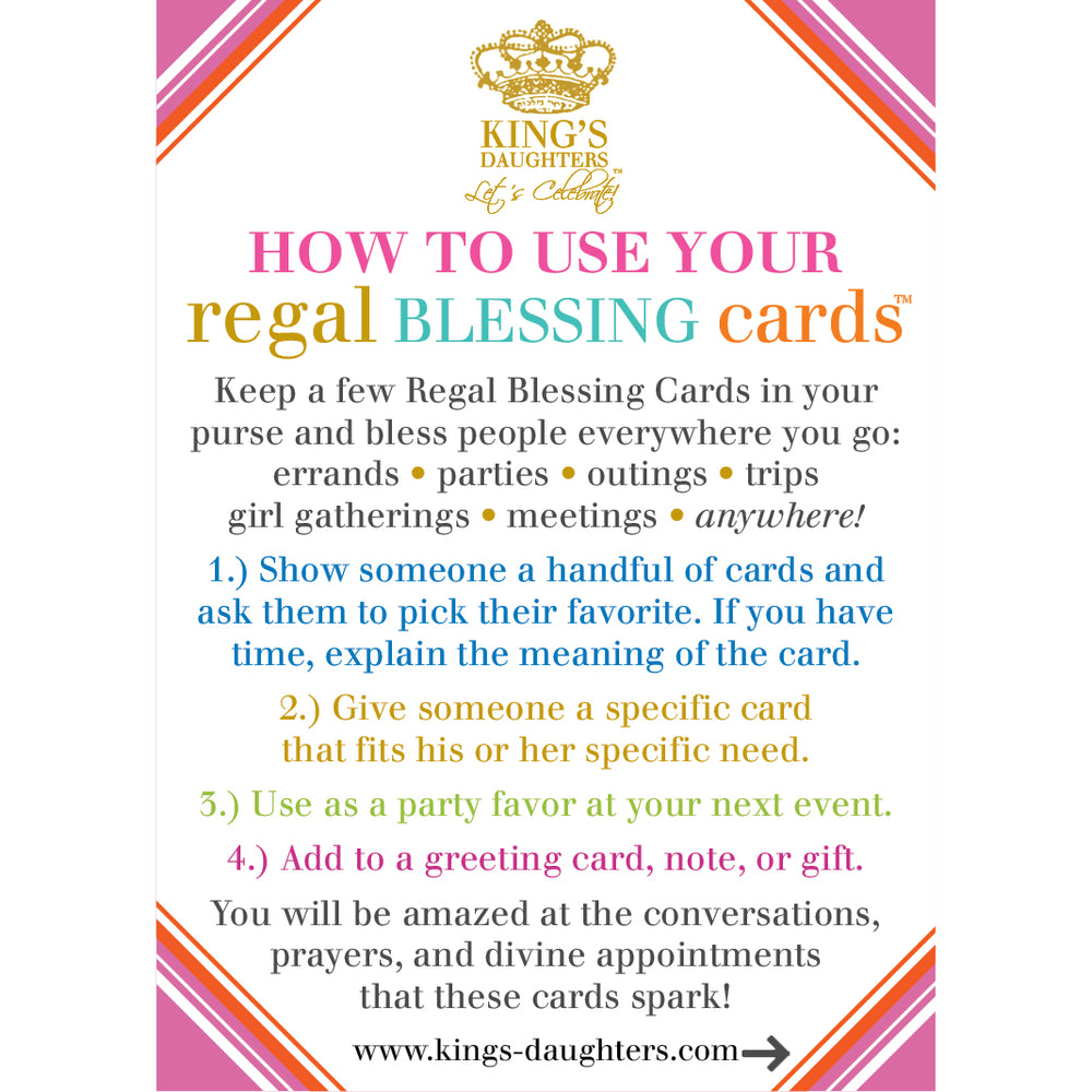 Regal Blessing Cards - New Heart Edition