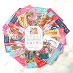 Regal Blessing Cards - New Heart Edition-Regal Blessing Cards-King's Daughters Regal Lifestyle Collection