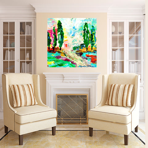 Glorious Trees • Giclee I-Giclee-King's Daughters Regal Lifestyle Collection