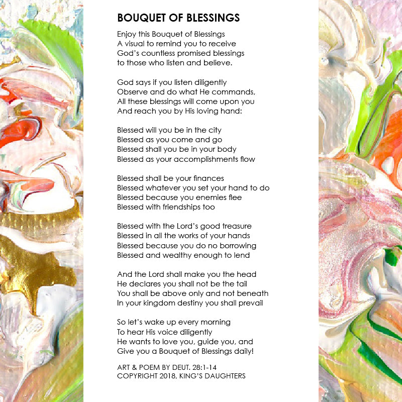 Bouquet of Blessings • Giclee X