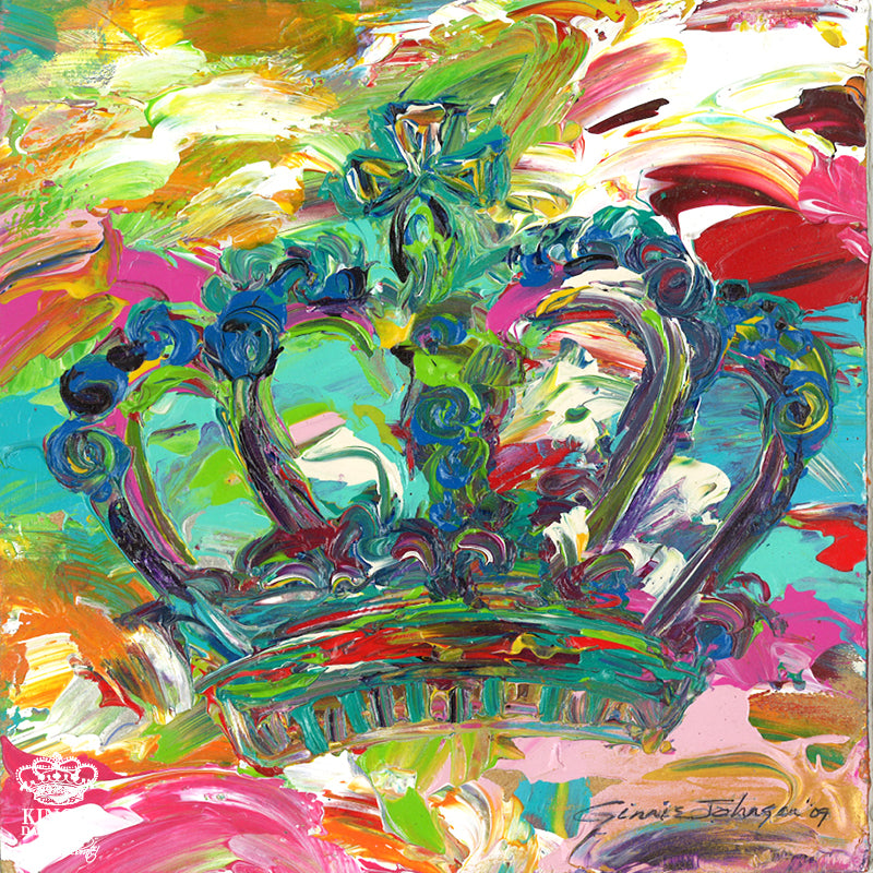 Kingdom Crown • Giclee III-Giclee-King's Daughters Regal Lifestyle Collection