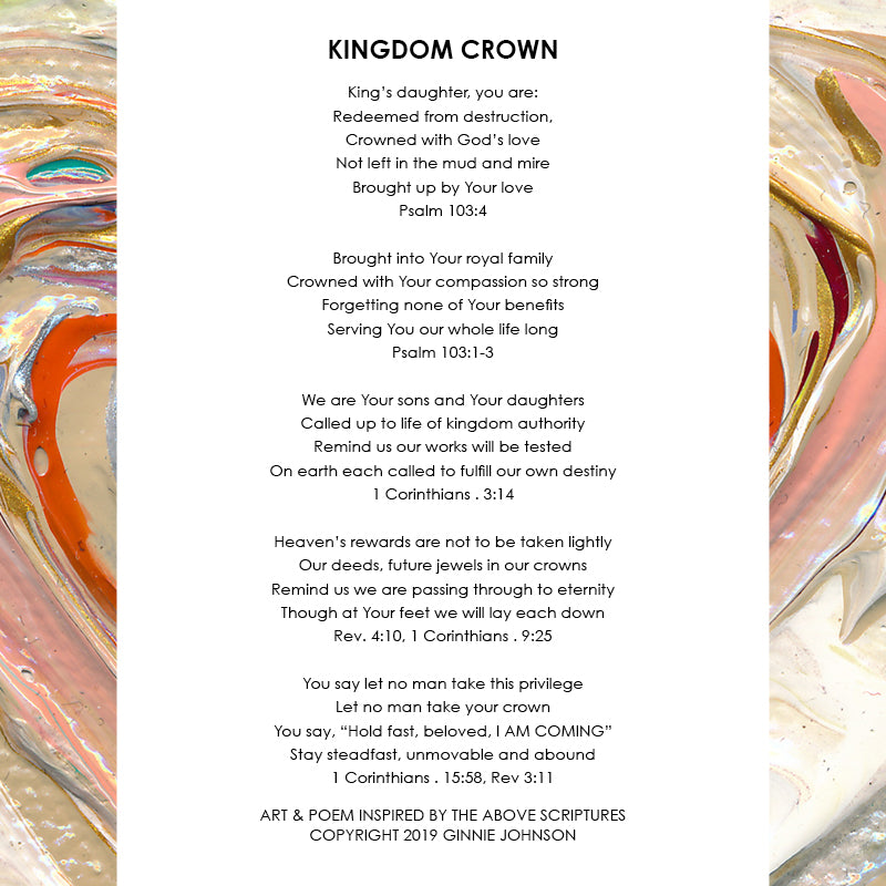 Kingdom Crown • Giclee II-Giclee-King's Daughters Regal Lifestyle Collection