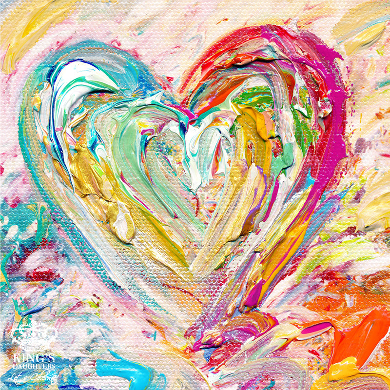 New Heart • Giclee 10-Giclee-King's Daughters Regal Lifestyle Collection