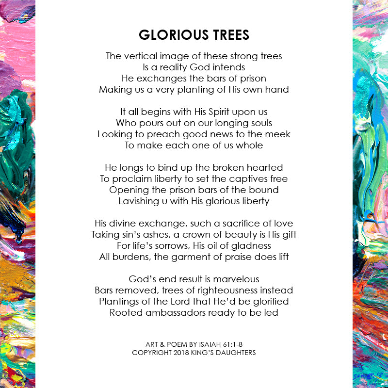 Glorious Trees • Giclee III