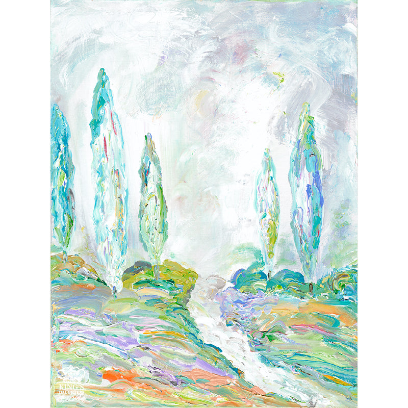 Glorious Trees • Giclee IV-Giclee-King's Daughters Regal Lifestyle Collection