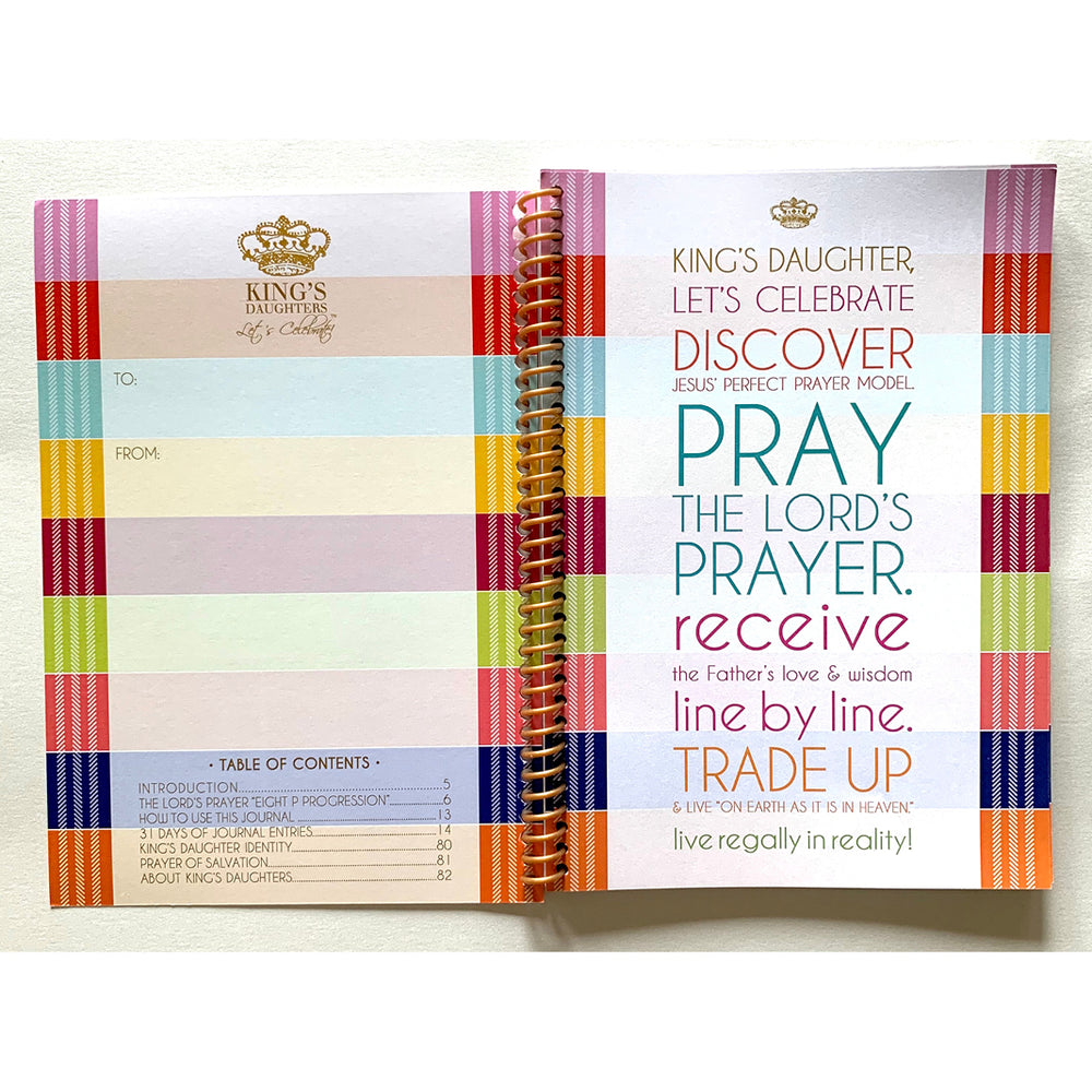 Trading Up with The Lord's Prayer Journal