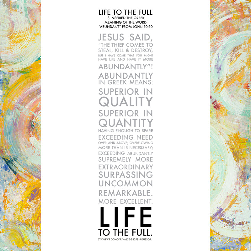 Life to the Full • Giclee II-Giclee-King's Daughters Regal Lifestyle Collection