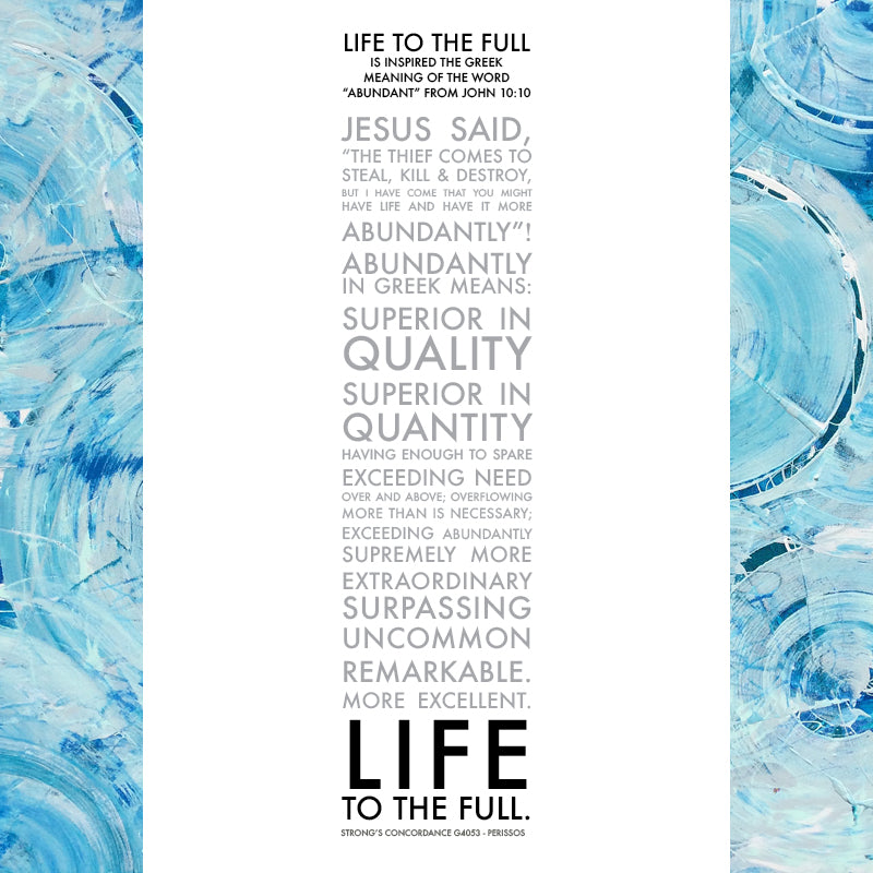 Life to the Full • Giclee I-Giclee-King's Daughters Regal Lifestyle Collection