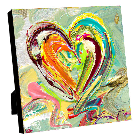 New Heart • Giclee 1-Giclee-King's Daughters Regal Lifestyle Collection