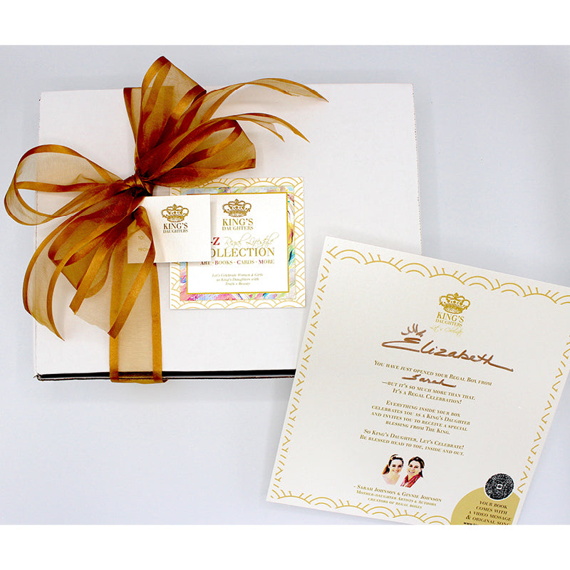 Heart Regal Box - White Series-Regal Boxes-King's Daughters Regal Lifestyle Collection