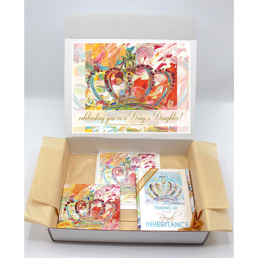 Kingdom Crown Regal Box - Bright Series-Regal Boxes-King's Daughters Regal Lifestyle Collection