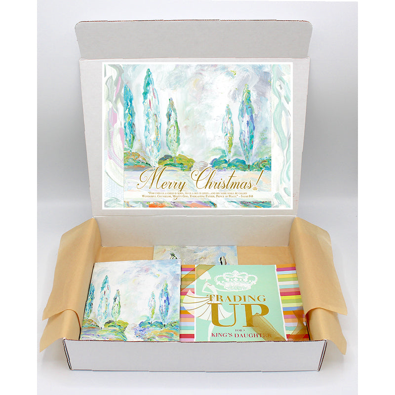 Joyous Trees Regal Gift Box-Regal Boxes-King's Daughters Regal Lifestyle Collection