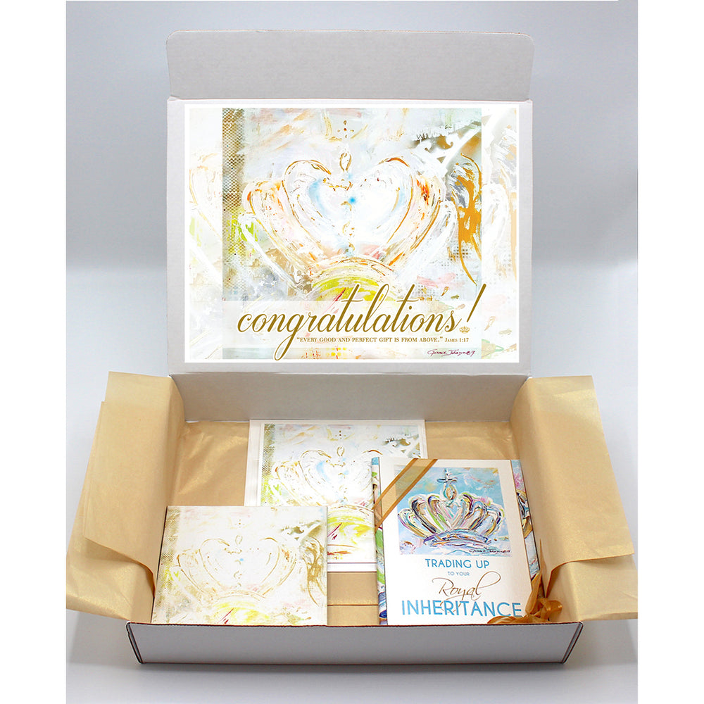 New Baby Gift Boxes - CROWN Series (Choose Color)