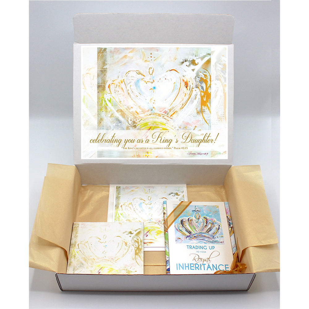Encouragement Gift Boxes - CROWN Series (Choose Color)
