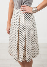 Load image into Gallery viewer, Pleated Skirt in Glitter Dots