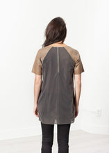Load image into Gallery viewer, Leather Front Tunic