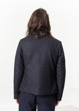 Load image into Gallery viewer, Camelia Reversible Jacket in Navy/Blue