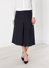 Load image into Gallery viewer, Tulle Pleat Skirt in Navy