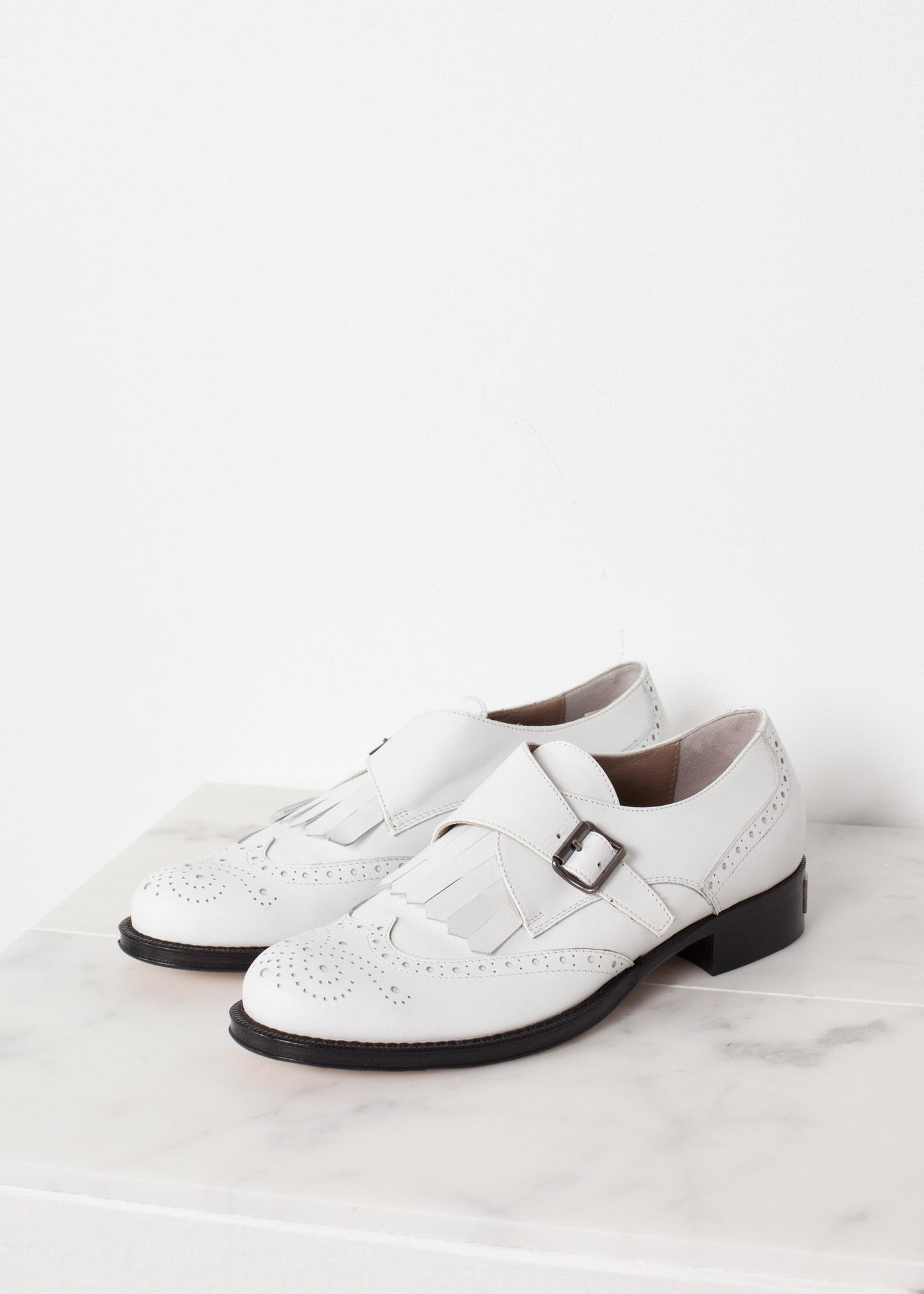 Golf Shoe in White